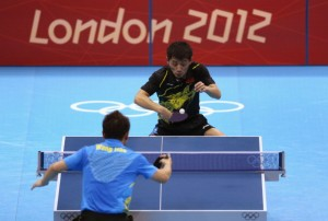 Record Television Audience of 34 million in China Watched London 2012 Table Tennis Final