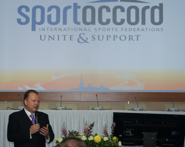 Vizer Elected New SportAccord President