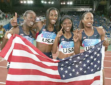 USA Allowed to Keep Athens 2004 4x400m Relay Gold Medals Despite Drugs Admission
