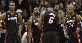 Down 3-2 in the NBA Finals, Heat Glad to Go Home