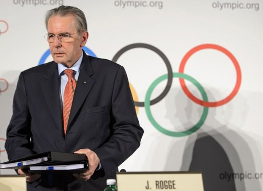 International Olympic Committee (IOC) president Jacques Rogge.