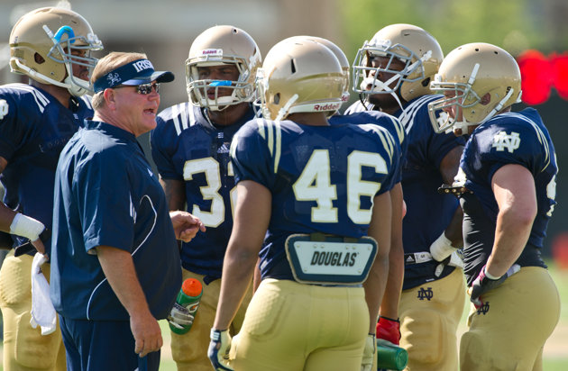 Notre Dame's Brian Kelly Eager to Prove 2012 was No Fluke