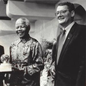 Müller: Mandela Embodied Spirit of Fair Play to Earn 1997 Award