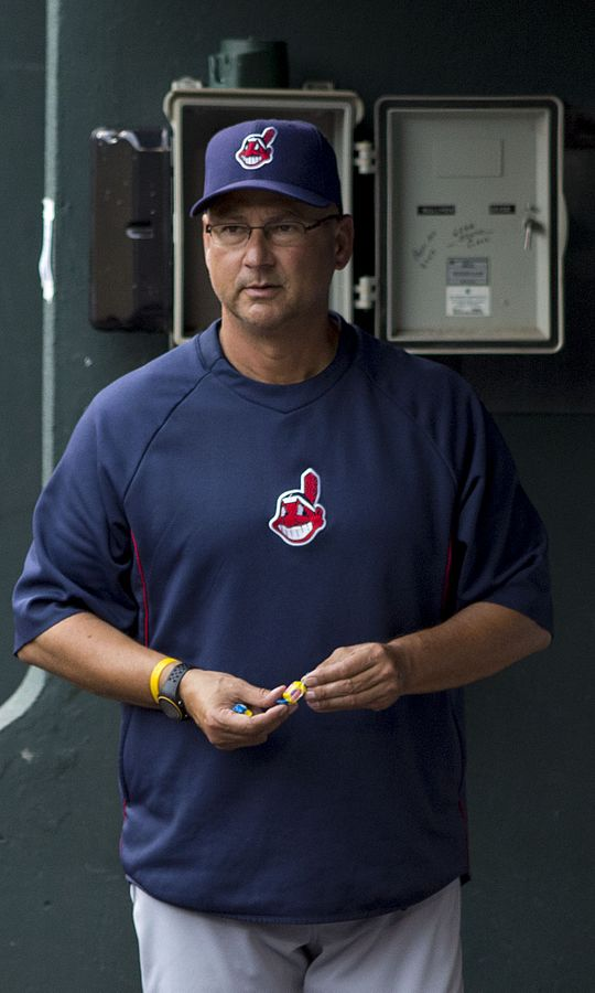 Cleveland Indians manager Terry Francona. PHOTO: By Keith Allison on Flickr - Wikimedia Commons