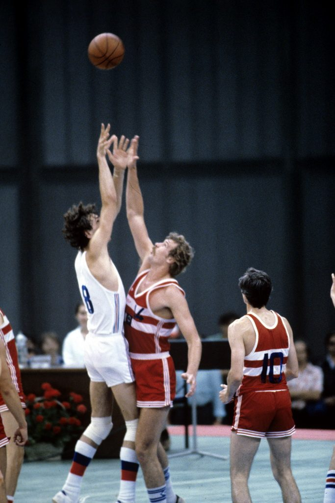 Basketball at the 1980 Summer Olympics in Moscow. Photo: By RIA Novosti archive,  Yuriy Somov via Wikimedia Commons
