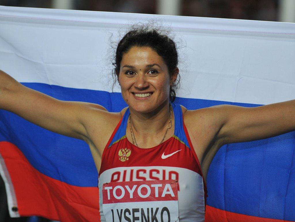 Tatiana Lysenko 3 Olympic medals in gymnastics
