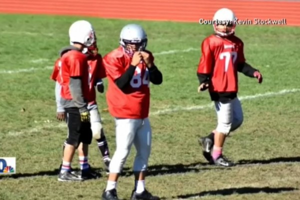A youth football coach has been fired for trying to play an adult in a youth football game. Photo: Turnto10.com