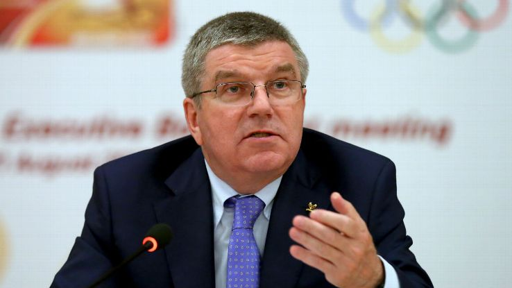 International Olympic Committee President Thomas Bach.  Photo: espnfc.com