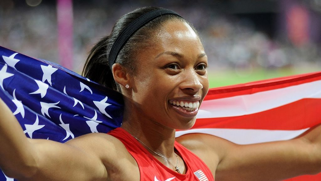 "Six-time Olympic champion sprinter Allyson Felix claimed America's ""diversity"" is its greatest strength following last week's Presidential election in a powerful Los Angeles 2024 Olympic and Paralympic bid presentation. Photo: http://mynewsla.com/"