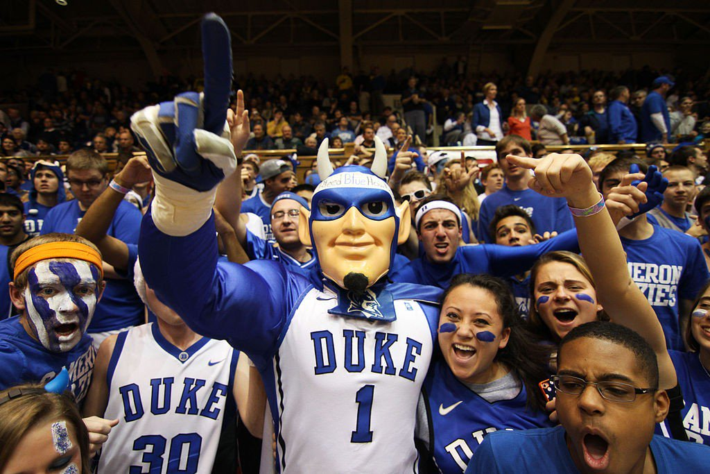 23968f552b7 United States Sports Academy doctoral teaching assistant Ben Billman  predicts the Duke Blue Devils will win the NCAA Tournament this season.  Photo  Twitter