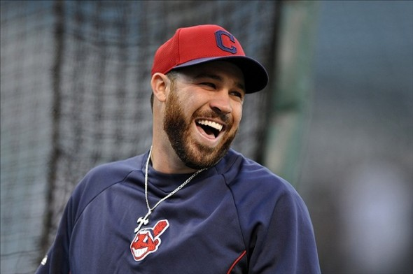 Cleveland Indians player Jason Kipnis. Photo: David Richard-USA TODAY Sports