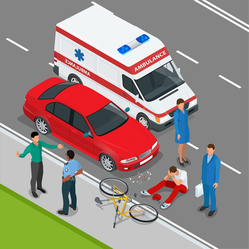 A common misconception about cycling is that traffic makes roads unsafe. However, The roads are safer than the perceived thought or fear that people have.  Graphic submitted by Denise Nelson