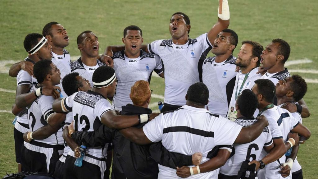 Fiji won gold in the men's Rugby Sevens tournament at the Rio 2016 Olympic Games. Photo: sportal.co.nz