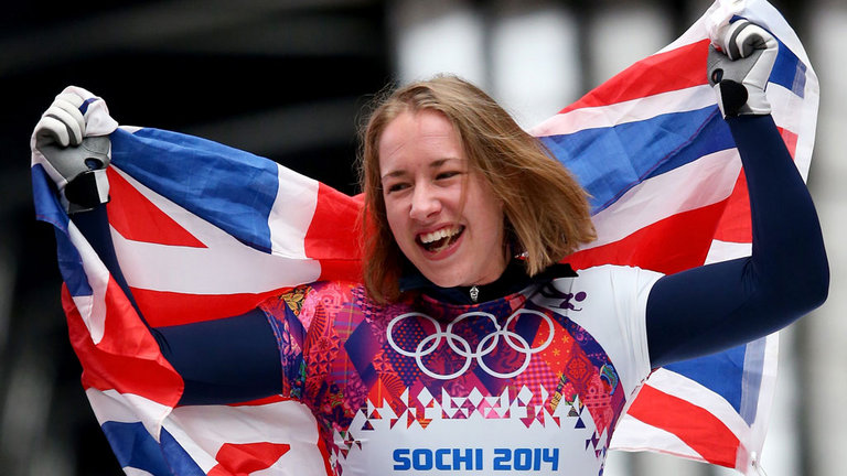 Olympic skeleton champion Lizzy Yarnold has called on the International Bobsleigh and Skeleton Federation (IBSF) to move next year's World Championships from Russia in the wake of allegations of state-sponsored doping and refused to rule out a personal boycott of the event if it remains in Sochi. Photo: SkySports.com
