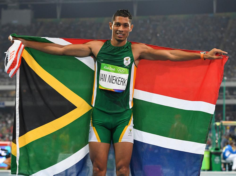 Olympic champion Wayde Van Niekerk. Photo: Roger Sedres