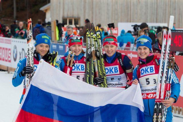 Russian Biathletes
