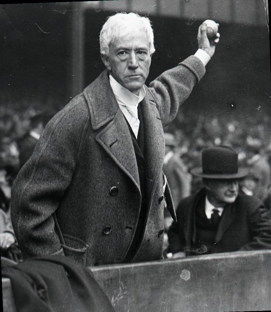 Former baseball commissioner Kenesaw Mountain Landis. Photo: http://alchetron.com/