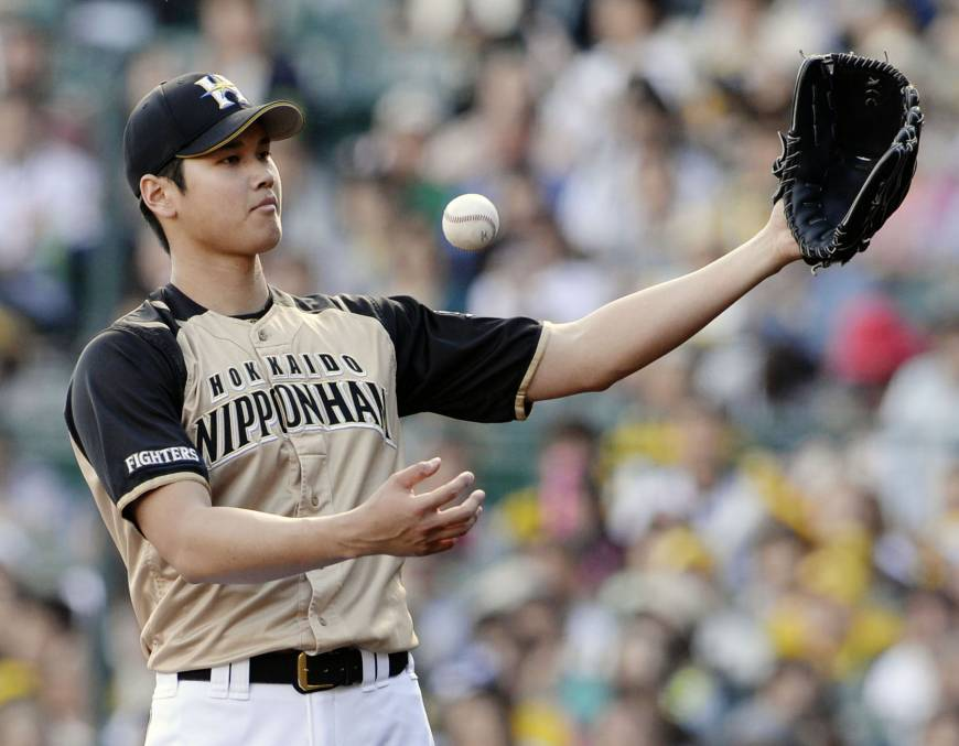 Shohei Otani. Photo: KYODO