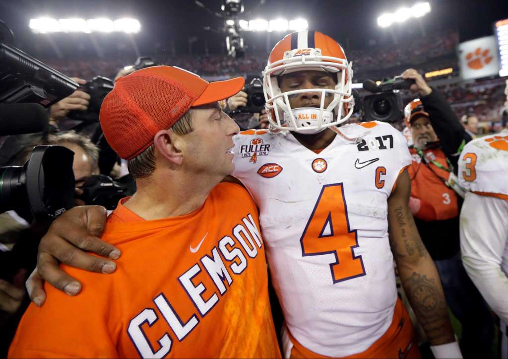 Armour: Clemson, Deshaun Watson Win the Only Trophy that Matters ...