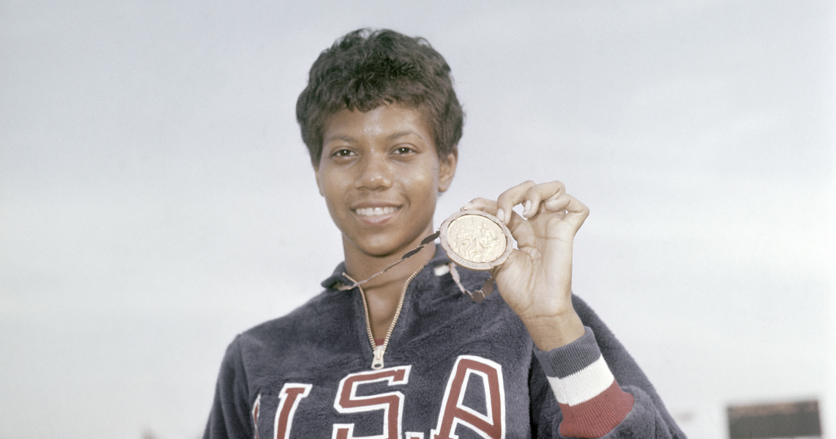February celebrates black history the sport digest us athlete wilma rudolph voltagebd Choice Image