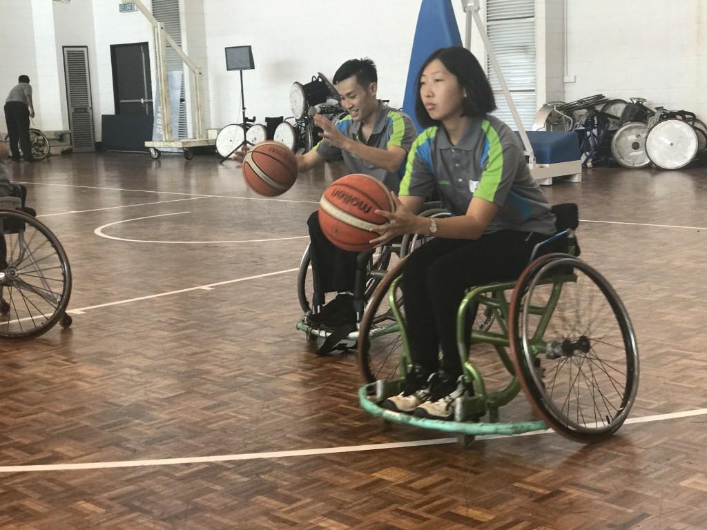 wheelchair basketball clinic held in malaysia ahead of 2017 asean