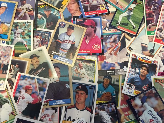 Baseball Card Collage