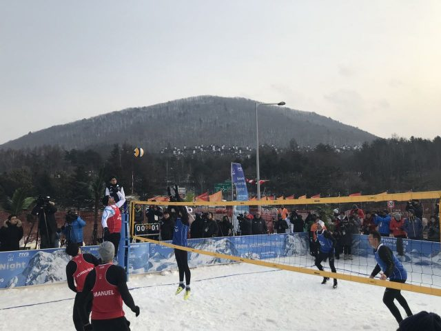 Owen Snow Volleyball At The Winter Olympics The Sport
