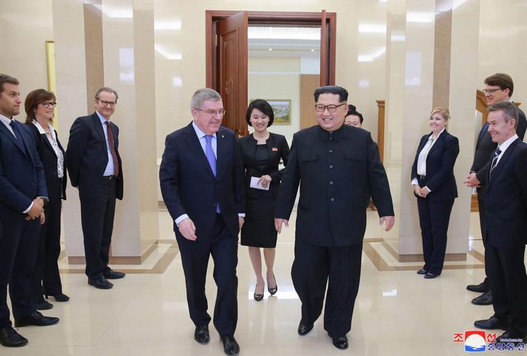 Ioc Politically Neutral On North Korea S Participation